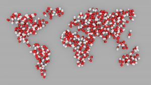 מפת העולם מתרופות – ביטוח תרופות מחוץ לסל