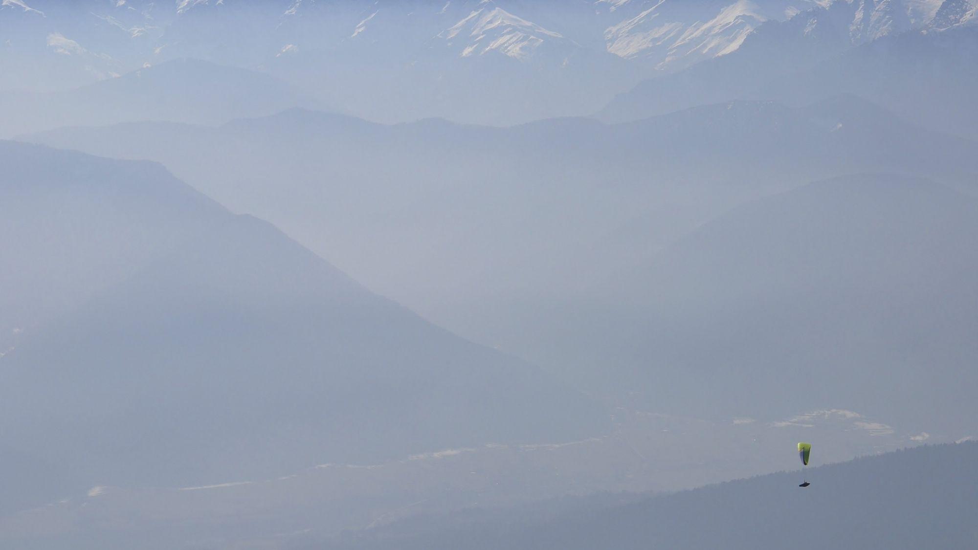 רחפן בהרים - ביטוח ספורט אקסטרים