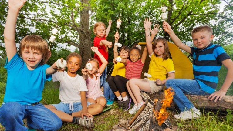 ילדים בקייטנה - ביטוח קייטנות